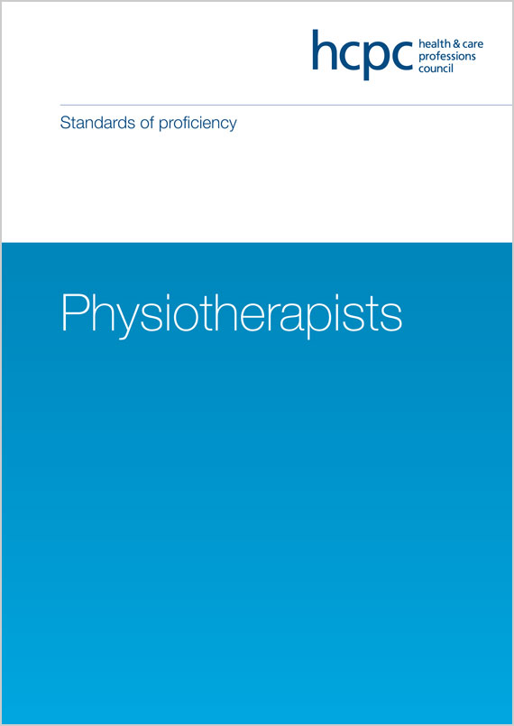 Standards of proficiency - Physiotherapists